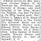 Obituary of Margaret Rogers